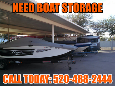 Covered Boat Storage